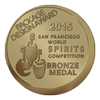 Arta Extra Anejo San Francisco World Spirits Competition 2015 Bronze Medal