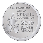 Arta Extra Anejo San Francisco World Spirits Competition 2015 Silver Medal